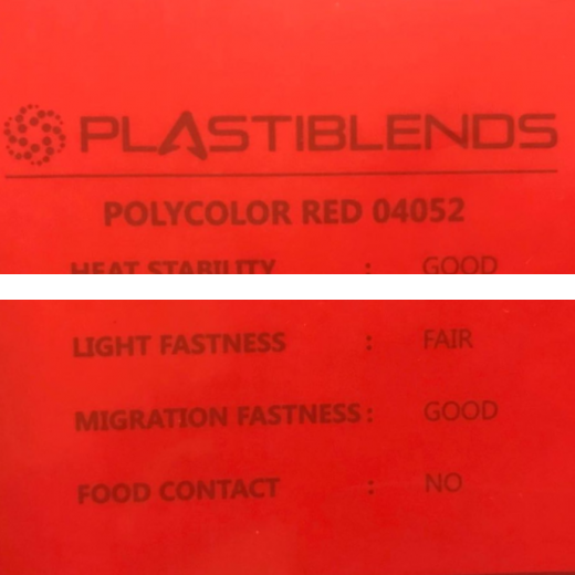 Мастербатч красный (MASTERBATCH POLYCOLOR RED 04052)