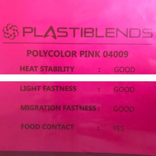Мастербатч розовый (POLYCOLOR PINK 04085)