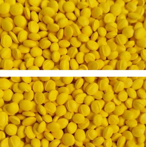 Суперконцентрат красителя желтый (MASTERBATCH POLYCOLOR YELLOW 04035)
