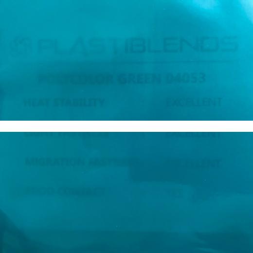 Мастербатч зеленый (POLYCOLOR GREN 04053)