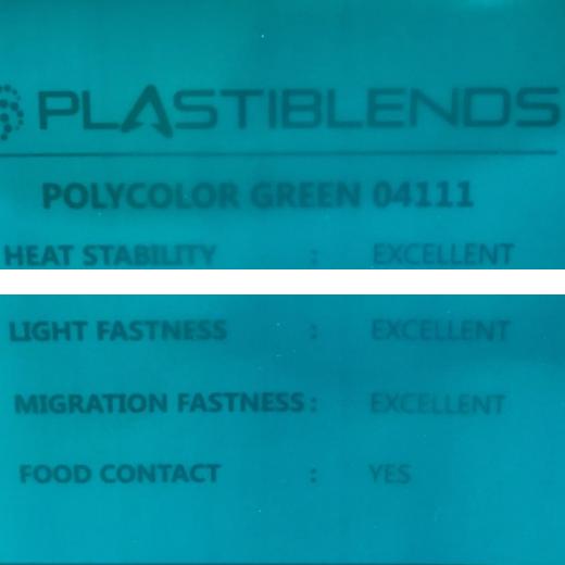 Мастербатч зеленый (POLYCOLOR GREN 04111)